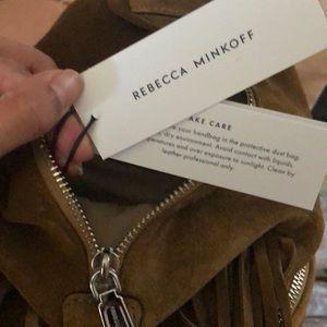 Rebecca Minkoff Bags - Rebecca Minkoff Mini Julian Backpack with Fringe